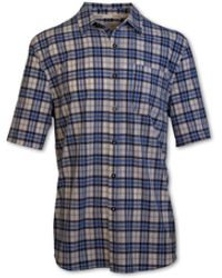 Purnell 4-way Stretch Quick Dry Shirt - Blue