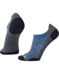 Smartwool Phd Run Ultra Light Micro Sock - Blue