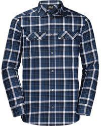 Jack Wolfskin Bow Valley Shirt - Blue