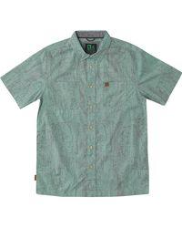 HippyTree El Cap Woven Shirt - Green