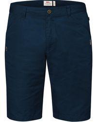 Fjallraven Fjallraven High Coast Shorts Navy - Blue