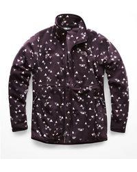 The North Face Glacier Alpine Full Zip Jacket - Purple