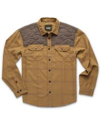 Howler Brothers Quintana Quilted Flannel - Natural
