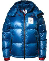 Topo Big Puffer Jacket - Blue