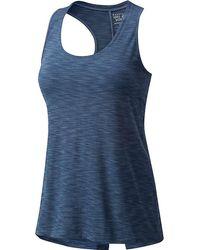 27a68736aa10c Lyst - Étoile Isabel Marant Flavien Striped Tank Top in Blue