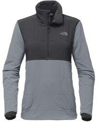 The North Face - Mountain 1/4 Zip Sweatshirt - Lyst