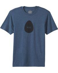 Prana Y'olde Ss T-shirt - Blue
