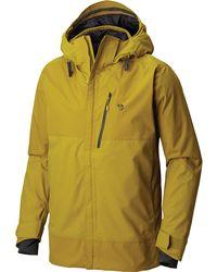 san francisco 2c1e6 2d752 Mountain Hardwear Superbird Jacket in Black for Men - Lyst