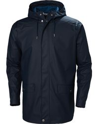 Helly Hansen Moss Rain Coat - Blue