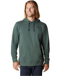 Mountain Hardwear Absolute Zero Pullover Hoody - Green