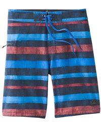 Prana Fenton 8 Inch Boardshort - Blue