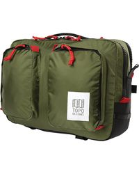 Topo Global Briefcase - Green