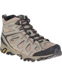 Merrell | Moab Fst Leather Mid Waterproof Boot | Lyst