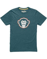 Howler Brothers El Mono Select T-shirt - Blue