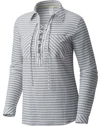 Mountain Hardwear Berryessa Long Sleeve Popover - Multicolor