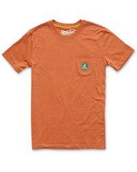 Howler Brothers Hermanos Platanos Pocket Tee - Orange