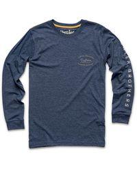 Howler Brothers Shaper Series Longsleeve T-shirt - Blue