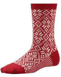 Smartwool - Traditional Snowflake Sock - Lyst