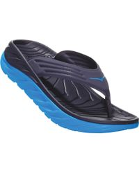 Hoka One One Ora Recovery Flip Flop - Blue