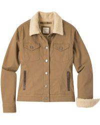 Mountain Khakis Ranch Shearling Jacket - Brown