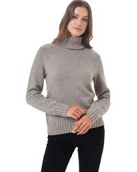 Tentree - Highline Wool Turtleneck Sweater - Lyst
