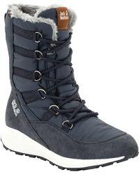 Jack Wolfskin Nevada Texapore High W Wasserdicht Snow Boots - Blue