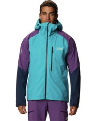 Mountain Hardwear Exposure/2 Gtx Pro Lite Jacket - Blue
