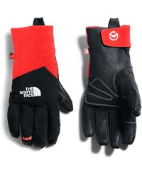 The North Face Summit Soft Shell Climbing Glove - Red
