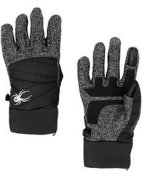 Spyder Bandita Stryke Hybrid Glove - Black