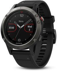 Garmin Fenix 5 Plus Sapphire Watch - Black