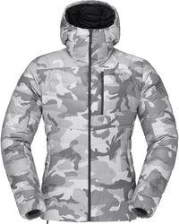Norrøna Lyngen Gtx Infinium Down850 Hood Jacket - Gray