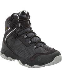 Jack Wolfskin Rock Hunter Texapore Mid Waterproof Hiking Boot - Black