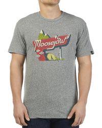 Moosejaw Life Is A Highway Vintage Regs Ss Tee - Gray