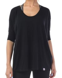 Vimmia Pacific Voop Neck Tee - Black