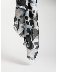 Morgan Foulard imprimé animalier - Multicolore