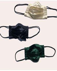 Morgan Lane Glam Silky Face Mask Set In Uncut Gems - Multicolor