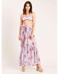 Morgan Lane - Abi Skirt In Lilac Esmeralda - Lyst