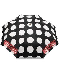 Moschino - Polka Dots Openclose Umbrella - Lyst