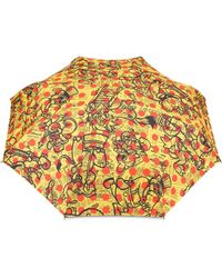 Moschino Parapluie Openclose Yellow Pages - Multicolore