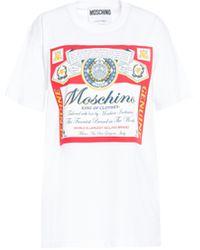 Moschino T-shirt con stampa - Bianco