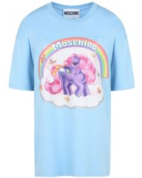 Moschino - Short Sleeve T-shirts - Lyst