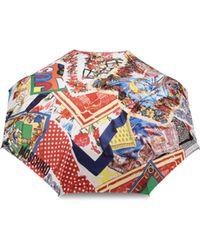 Moschino - Foulard Openclose Umbrella - Lyst