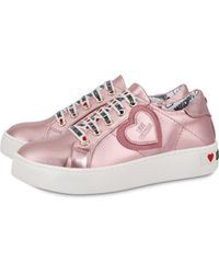 19bd3e87294 Skechers Double Up Shiny Dancer Rose Gold 801 Rsgd Women s Shoes In ...