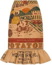 Moschino Gonna In Juta Potato Field - Neutro