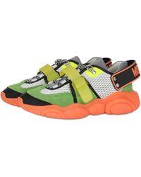 Moschino Zapatillas Teddy Shoes Flúor - Naranja