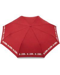 Moschino - Bear Logo Openclose Mini Umbrella - Lyst
