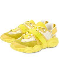 Moschino Teddy Shoes Roller Skates - Jaune