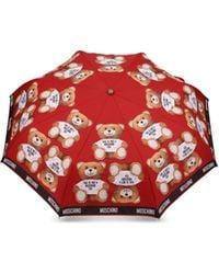 Moschino - Ombrello Con Stampa Teddy Bear - Lyst