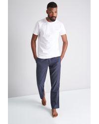 Ted Baker - Navy Spot Pyjama Set - Lyst