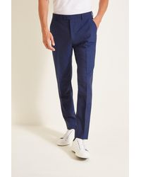 Ted Baker Regular Fit Blue Trousers